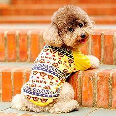 Cotton ursinhos camiseta Pattern para cães Animais de estimação (cores sortidas, tamanhos) – BRL R$ 17,97