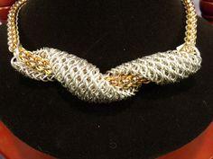 Valentine's Day Sale:  Aluminum Half Persian 3-in-1 Sheet 6 Corkscrew Slider Pendant. $185.00, via Etsy. slider pendant, chainmaill
