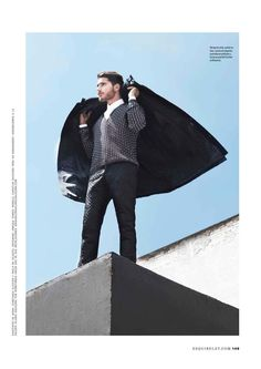Male Fashion Trends: Christian Giustardi por Olga Laris para Esquire México