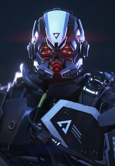 Killzone: Shadow Fall - Helghast Commando by Arno - Valhallan Nebula Science Fiction, Killzone Shadow Fall, Combat Suit, Sci Fi Armor, Future Soldier, Robot Design, Helmet Design, Futuristic Art, Sci Fi Characters