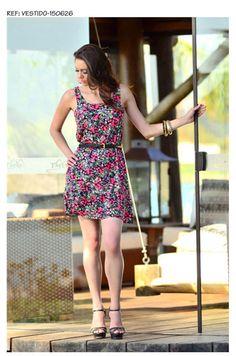 vestido curto do verão 150x150