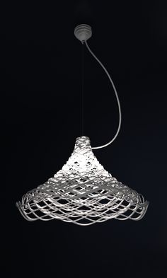 3d printed lamp shade    #comment/thoughts? @ANTHONOIR @Cassie Akins