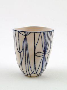 Hand-held Porcelain Vessel VI