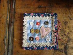 """Needle Case """"Buttons"""" (sold) My facebook page: https://www.facebook.com/Wilhelmine-Wiesenkraut-802474093168101/?ref=hl"""