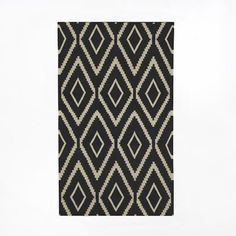Second rug for laundry/craft room // Kite Wool Kilim - West Elm