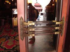 Door to the Pathé Tuschinski is a movie theater in the Netherlands in Amsterdam commissioned by Abraham Icek Tuschinski in 1921 at a cost of 4 million guilders.