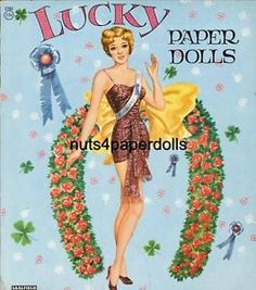 vintage paper dolls | Vintage Lucky Paper Doll Laser Repro Free SH W2 | eBay