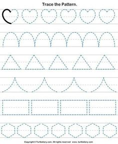 Check out Turtle Diary's large collection of Shapes worksheets for preschool. Make learning fun and easy with these great learning tools. Shape Worksheets For Preschool, Alphabet Tracing Worksheets, Shapes Worksheets, Preschool Writing, Numbers Preschool, Kindergarten Math Worksheets, Preschool Learning Activities, Kids Writing, Teaching Cursive Writing