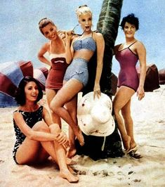 Paula Prentiss and Yvette Mimieux in Where The Boys Are: this is how to wear a bathing suit, ladies