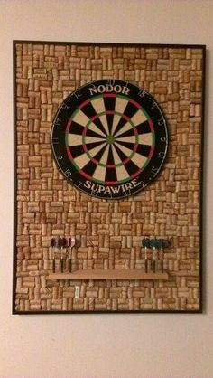 Entertainment Discover 10 Dart Board Ideas To Recreate In Your Own Home Dartscheibe Ideen Wine Cork Projects Wine Cork Crafts Wine Cork Art Basement Remodeling Own Home Game Room Home Projects Diy Crafts Crafty Wine Cork Projects, Wine Cork Crafts, Wine Cork Art, Own Home, Home Projects, Welding Projects, Diy Crafts, Crafty, Dartboard Ideas