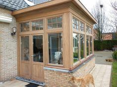 be website var tmp Front Porch Addition, Sunroom Addition, Swedish Cottage, Victorian Cottage, House Extension Design, Cottage Extension, Extension Ideas, Basement Entrance, European Style Homes