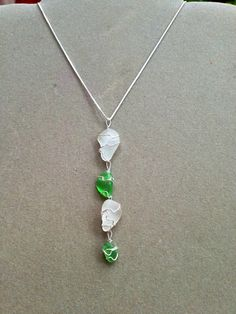 Chandelier Seaglass Chain  on Etsy, $31.00
