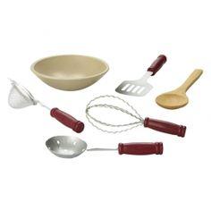 "Kitchen Tool Accessory Set Fits 18"" Dolls"