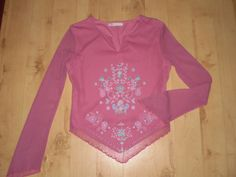 PINK Sparkly Tunic TOP Size 10