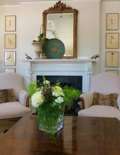 MHD likes the mantel arrangement-for the love of a house: intentions and reality