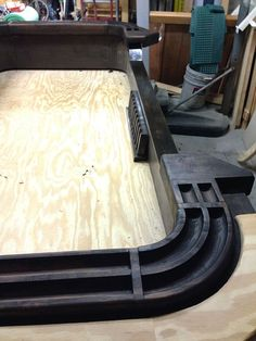 Tinygiant Workshop | Homemade Craps Table Casino Night Food, Garage Shelving, Table Plans, Mudroom, Woodworking Projects, Diy Furniture, How To Memorize Things, Workshop, Home Appliances