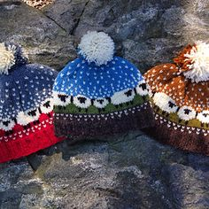 This was the official pattern for Shetland Wool Week an event held every year in Shetland to celebrate Shetland wool and it's associated crafts. Mitten Gloves, Mittens, Lace Knitting, Knit Crochet, Baa Baa Sheep, Shetland Wool Week, Cute Hats, Winter Hats, Christmas Ornaments
