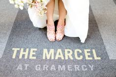 obsessed with a New York Wedding, this picture, and her shoes