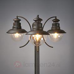 3-lichts lantaarnpaal Eddie, IP44 9630004