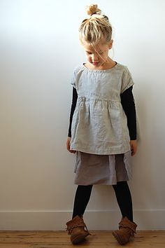 top knot + neutrals + moccasins.... can i have this style instead of my (not yet existing) future child?