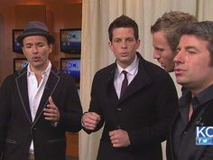 The Tenors - Victor Micallef, Fraser Walters, Remigio Pereria and Clifton Murray #TheTenors #kclivetv