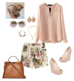Floral Blush by dressupdiva on Polyvore 2016