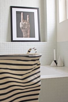 Bathroom details.