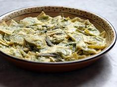 Tartello with Raveggiolo and Mixed Greens Recipe : Debi Mazar and Gabriele Corcos : Recipes : Cooking Channel