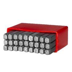 Slagstempels voor metaal Alfabet 3mm