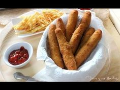 JULIA Y SUS RECETAS: Fingers de pollo con ketchup
