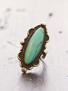 Vintage Navajo Ring- wish my fingers were long enough for this gorgeous piece!