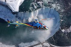 Ultimate Niagara Falls Tour plus Helicopter Ride and Skylon Tower Lunch