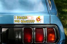 I Brake for Magikarp Bumper sticker by Zeusgifts on Etsy