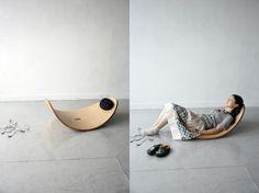 Rocking chair by Akira Minagawa