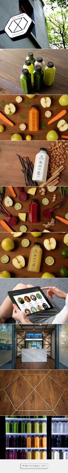 ELIXIR DETOX Juice Branding and Packaging by DBM Studio | Fivestar Branding Agency – Design and Branding Agency & Curated Inspiration Gallery