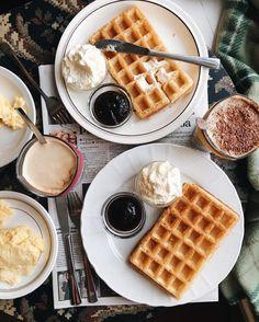 waffles breakfast ideas brunch foods desserts pretty food