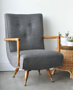 Reupholstered Mid-Century Chairs (visualheart)