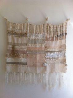 CUSTOM weaving woven wall hanging by Maryanne by MaryanneMoodie