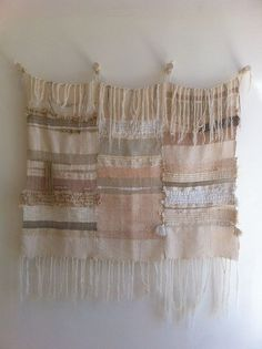 CUSTOM weaving woven wall hanging by Maryanne by MaryanneMoodie