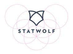 Wolf Logo Design Construction