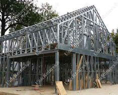 Portfolio of The Lightweight Steel Structures Factory - UnicRotarex®. Steel houses and industrial buildings done by our technology in the entire world. Steel Buildings, Modern Buildings, Steel House, Steel Structure, Page 3, Steel Frame, Metal Working, Drywall, Kiosk