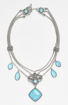 Konstantino 'Aegean' Frontal Necklace available at #Nordstrom