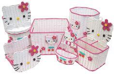 Hello Kitty basket set