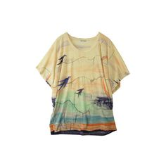 Water color t-shirt ($315) ❤ liked on Polyvore