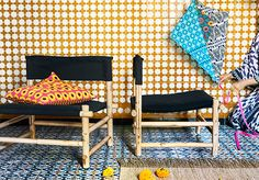 In the past, I've blogged about secret boho finds at Ikea, but Ikea has just gone full-on boho with their new Jassa collection. It's rattan on pattern on pattern on pattern and there are some very very fun pieces–at almost infuriatingly low prices. Mixing in those splatter-paint plates with all these Moroccan-inspired patterns? Kind of genius, right? I'm …
