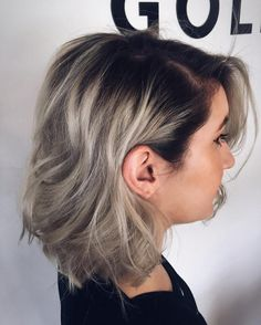 Dazzling Silver Ombre for 2017 | New Hair Color Ideas & Trends for 2017