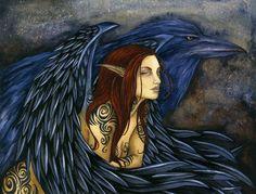 Amy Brown - The Morrighan