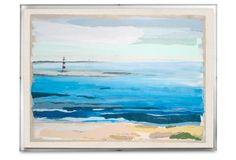 Karin Olah, Inlet Light, Acrylic Frame