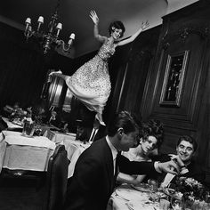 Jump, Paris 1965 © Melvin Sokolsky