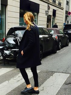 CAROL'S WAY: In city mode, Carol Gerland - Zadig & Voltaire's communication director - tames winter thanks to Zadig & Voltaire's dressing. #ootd #carolsway #fashion